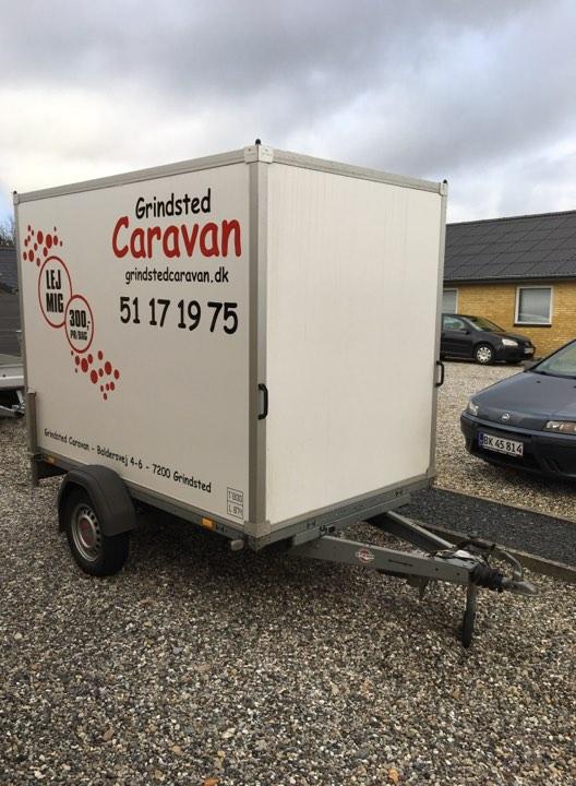 Fantastisk! Fantastisk mad Lej en trailer – Grindsted Caravan DZ62
